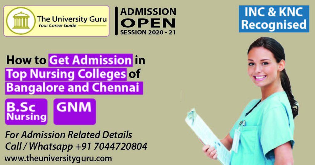 Admission in nursing in Bangalore